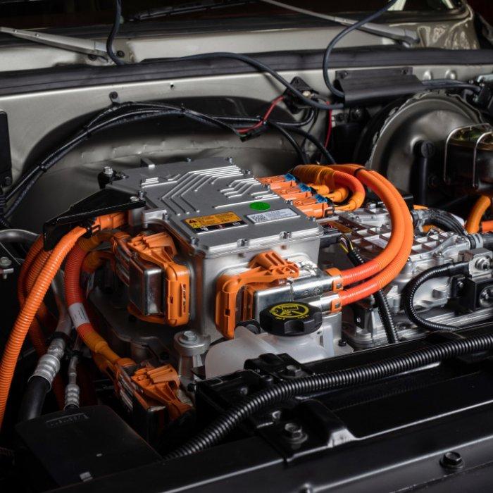 Zelf een elektrische klassieker maken? Dat kan met de eCrate van Chevrolet!