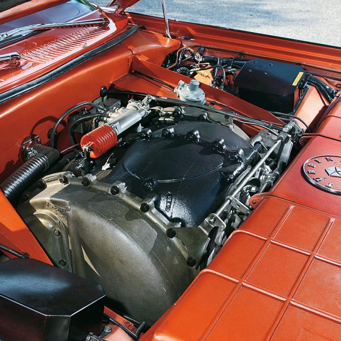 'Zelfs twee meter achter de Chrysler Turbine Car vatte je broek vlam'