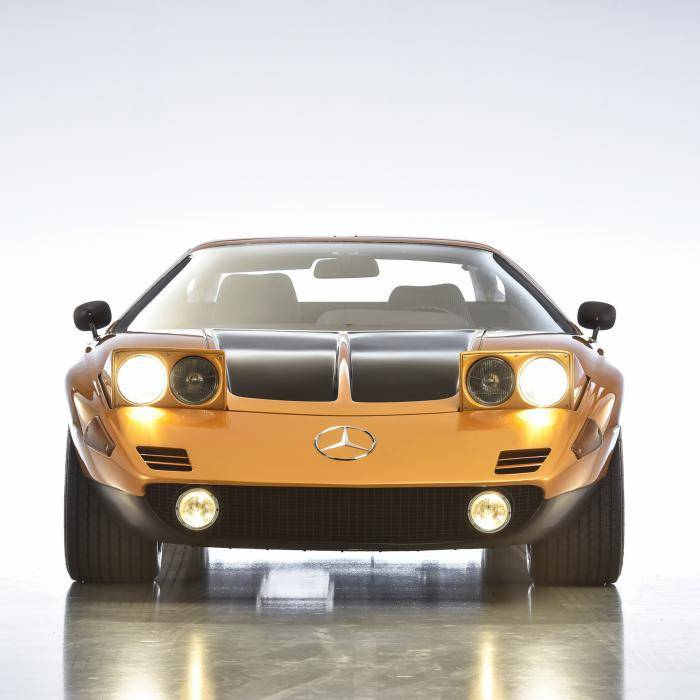 Waarom de vetste Mercedes C-klasse nooit in productie ging: Mercedes C 111 wordt 50