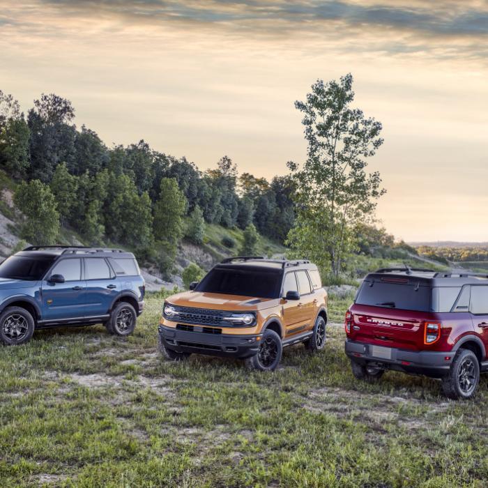 Ford Bronco Sport is het 'kleine' broertje van de Bronco