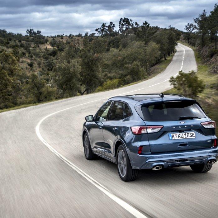 Wat valt op aan de Ford Kuga Plug-in Hybrid?