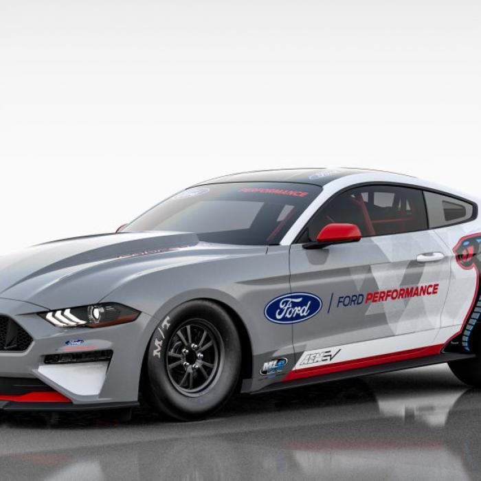 Deze volledig elektrische Ford Mustang heeft 1400 pk