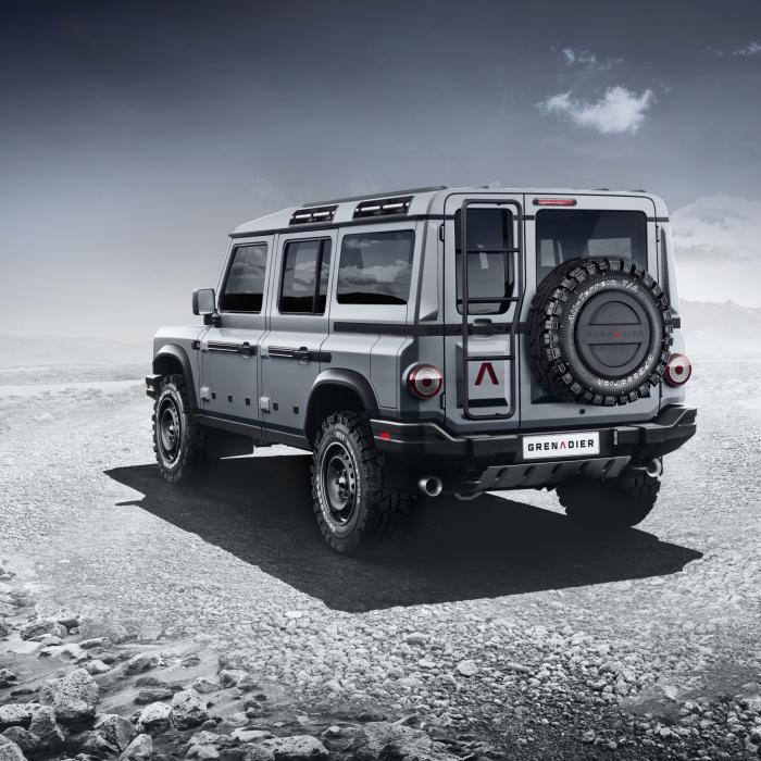 Dit is is géén Land Rover Defender, maar de Ineos Grenadier