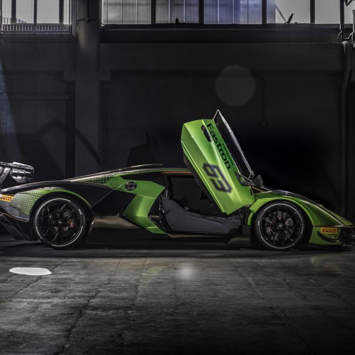 Lamborghini Essenza SCV12 is allergisch voor verkeersdrempels
