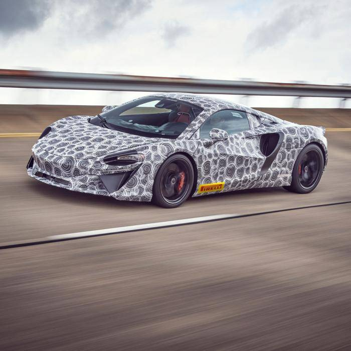 Hybride-opvolger van de McLaren 570S krijgt een V6'je