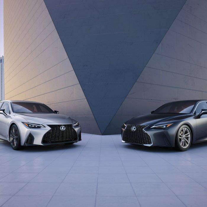 Nieuwe Lexus IS is helemaal zo nieuw niet