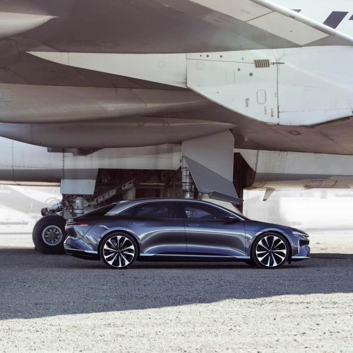 Lucid Air is sneller dan een Bugatti Chiron