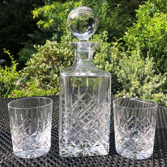 Win een prachtige kristallen whiskyset van Luxoria