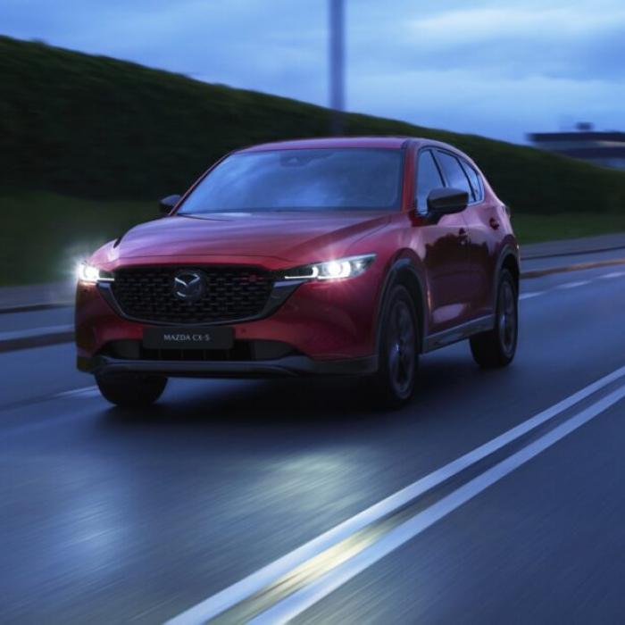 Waar zou de gefacelifte Mazda CX-5 zo boos over zijn?