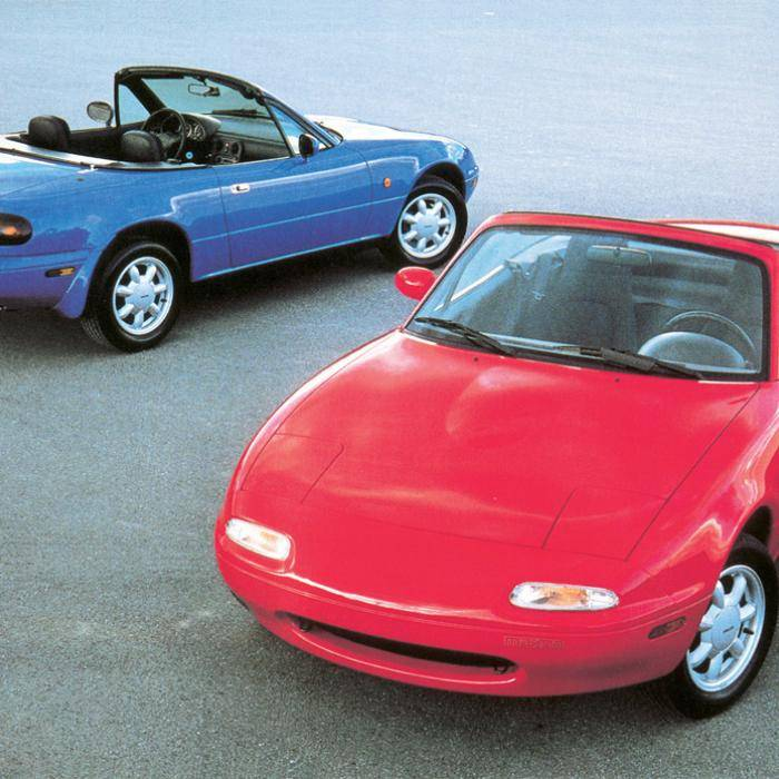 Mazda levert weer onderdelen voor eerste Mazda MX-5