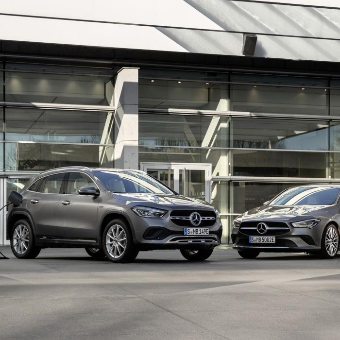 Mercedes-Benz prijst hele zwik compacte plug-in hybrides