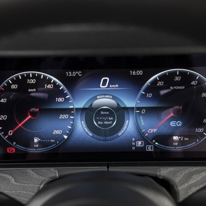 De Mercedes E 300 DE 4Matic is een ideale reismachine