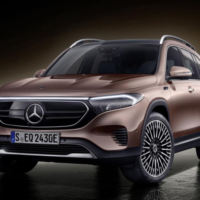 Mercedes EQB is de eerste elektrische zevenzitter van Mercedes