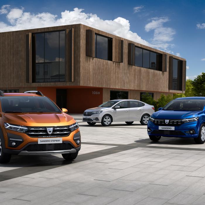 Niet-autoliefhebbers opgelet! De Dacia Logan en Sandero zijn nieuw