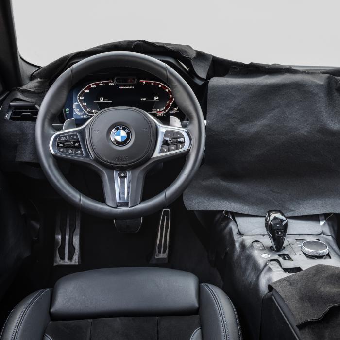 BMW probeert nieuwe 4-serie Coupé zo lang mogelijk te verbergen