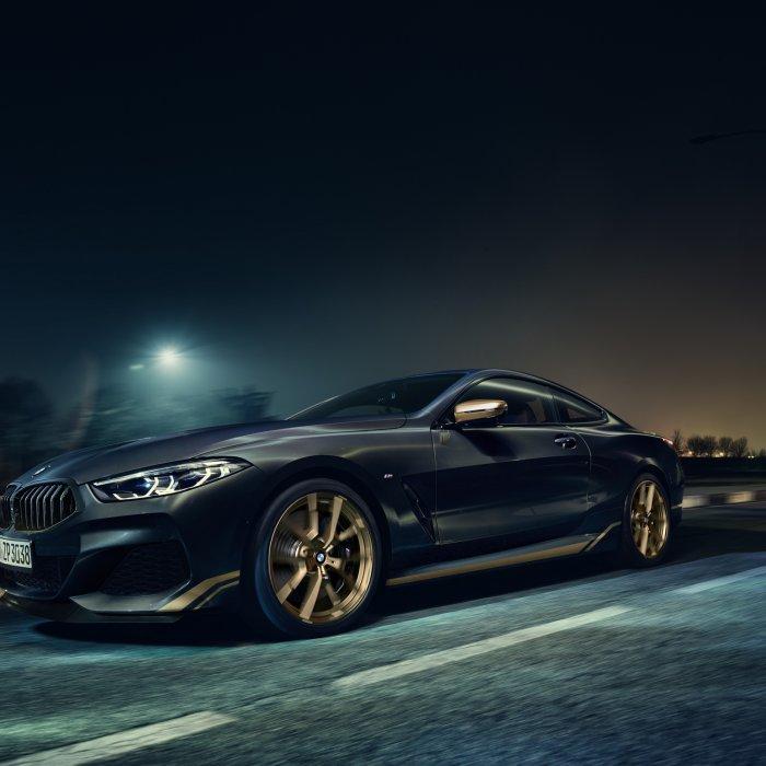 Is de opzichtige BMW 8-serie Golden Thunder alleen voor China?