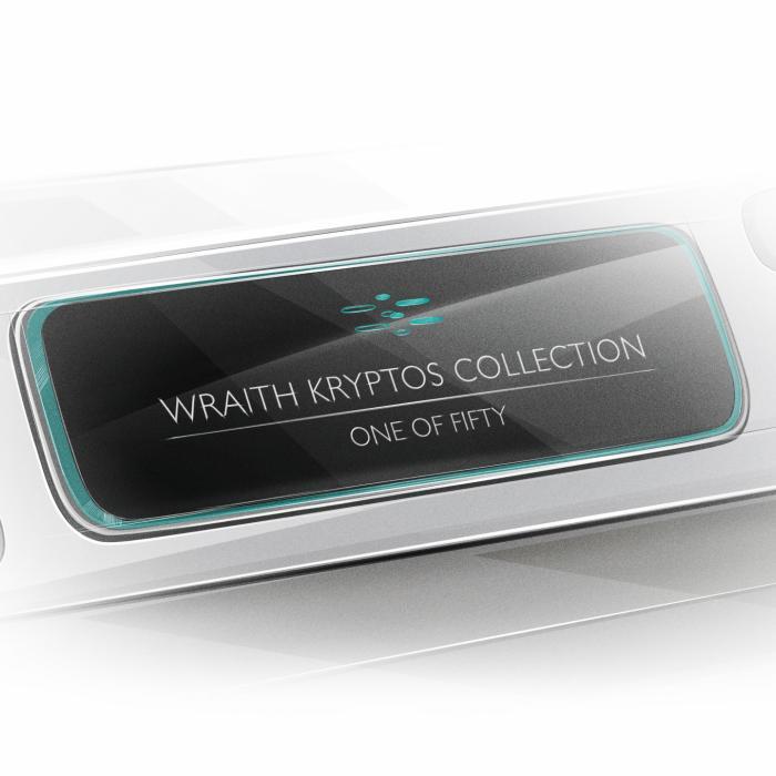 Rolls-Royce Wraith Kryptos verbergt een geheime boodschap