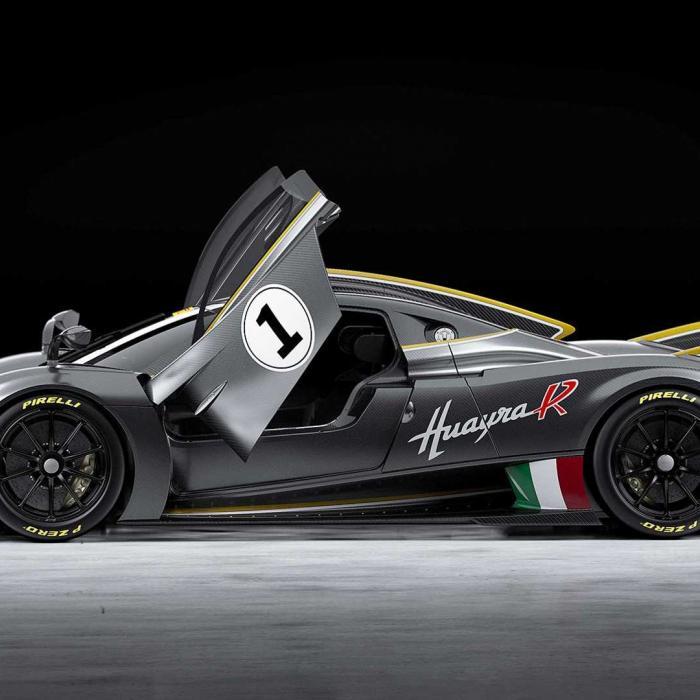 Voor de prijs van één Pagani Huayra R kun je 200 Toyota's kopen
