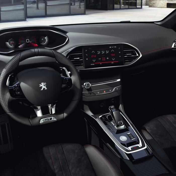 Digitale i-Cockpit voor de vernieuwde Peugeot 308 (2020)