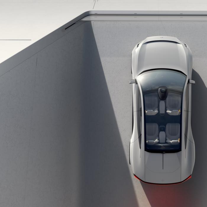 De Polestar 2 krijgt een vierdeurs coupé-broer: de Polestar Precept