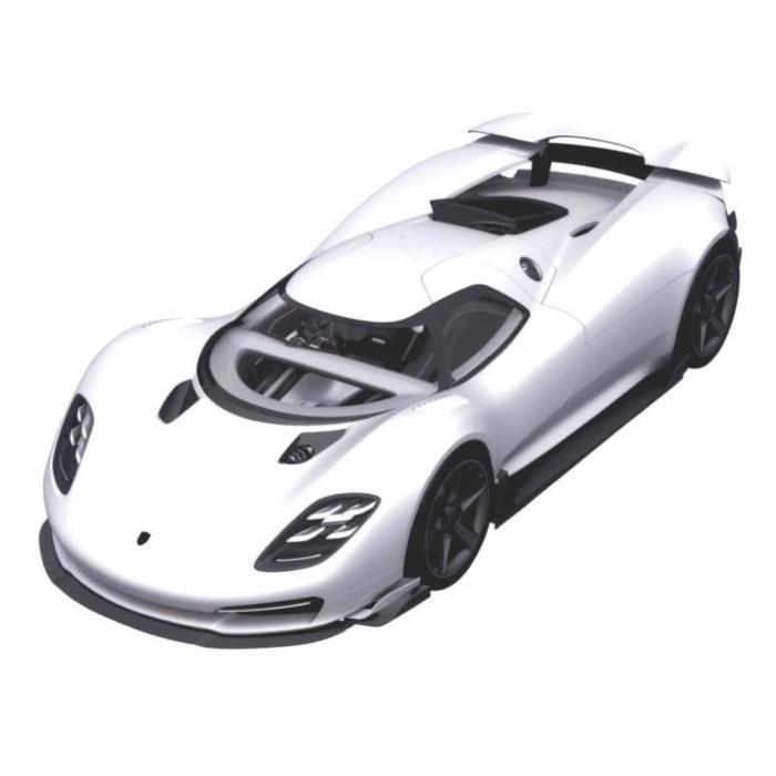 Is dit de volgende supersportwagen van Porsche?