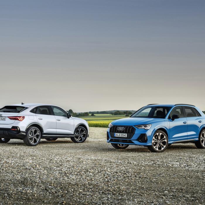 Audi Q3 en Q3 Sportback nu ook met een stekker