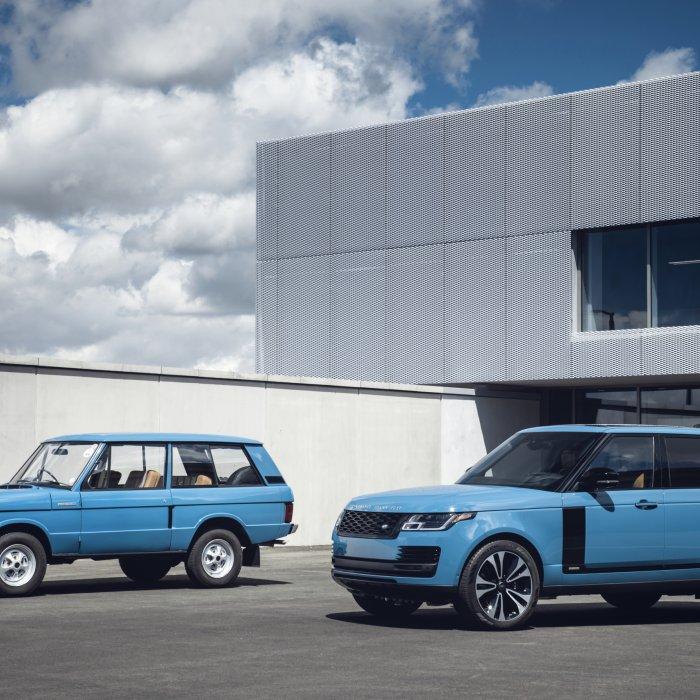 Range Rover wordt 50 en brengt eerbetoon aan origineel