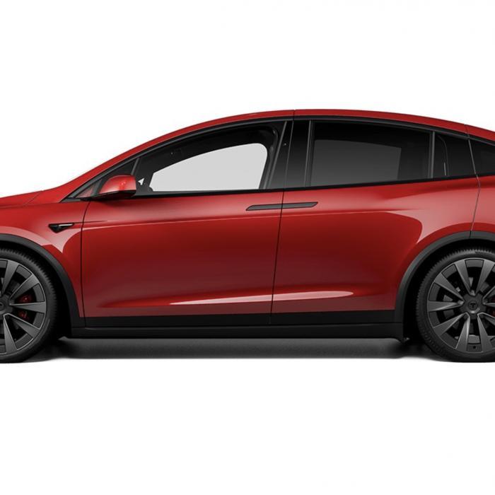 Gefacelifte Tesla Model X is een PlayStation op wielen