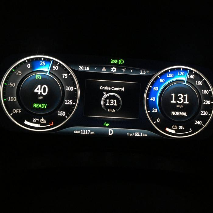 Seres 3: actieradius gemeten bij 130 en 100 km/h