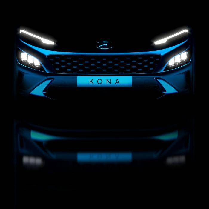Hyundai Kona krijgt nieuwe neus