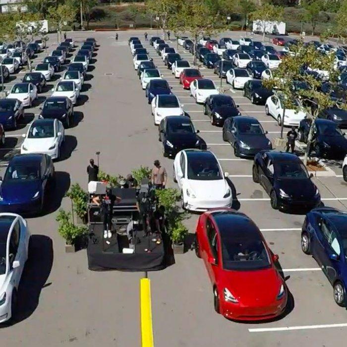 Tesla haalde in 2020 nét de 500.000 verkochte auto's niet