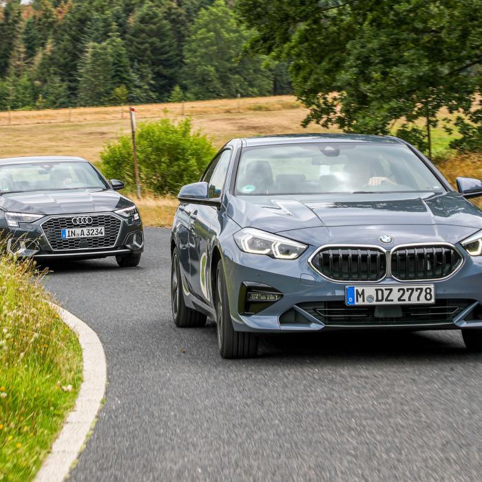 Test BMW 2-serie vs. Audi A3: waarom viercilinders beter zijn dan driecilinders