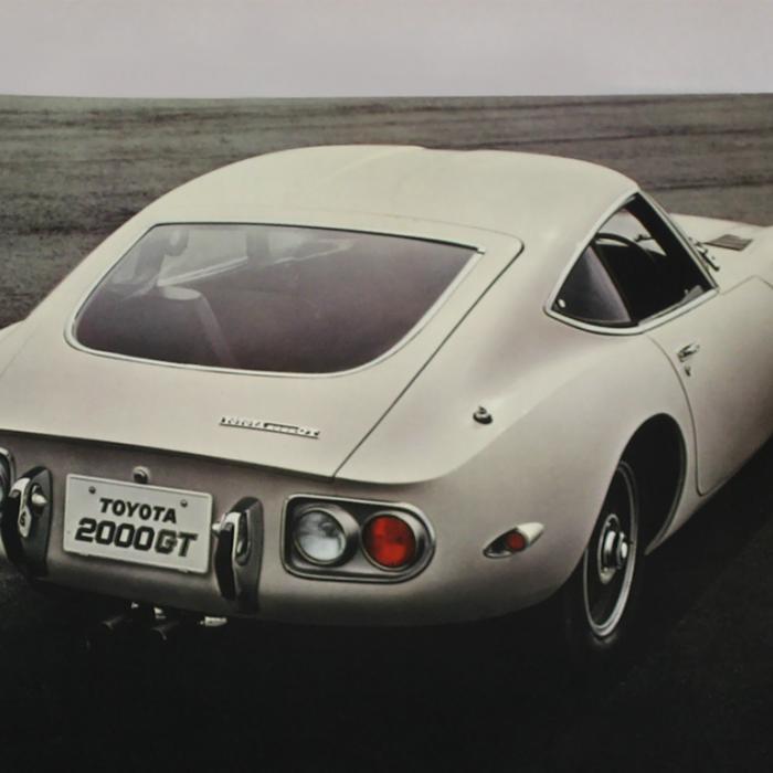 Louwman Museum opgelet! Toyota gaat weer Toyota 2000GT-onderdelen maken