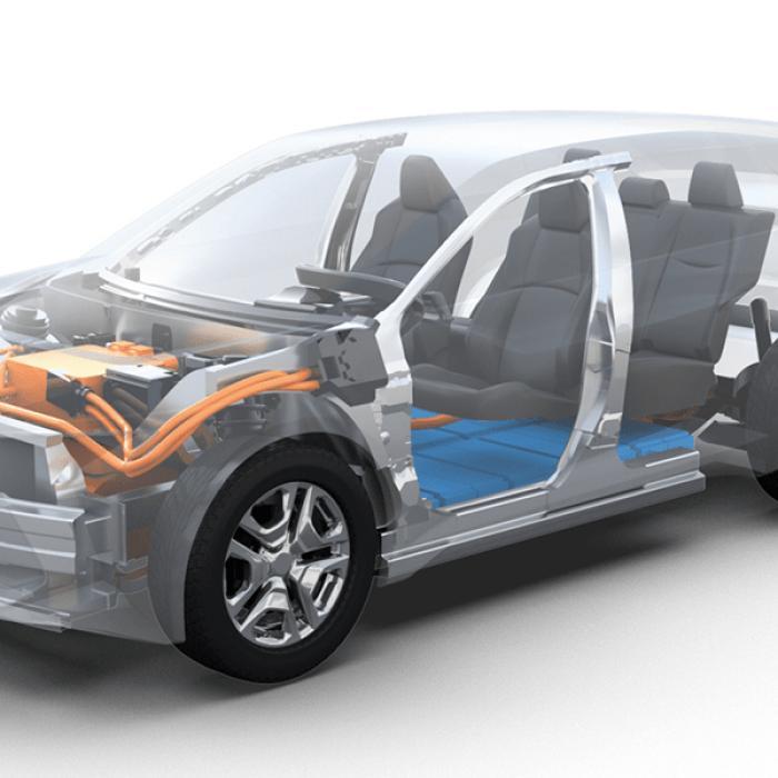 Ook Subaru komt met een volledig elektrische suv
