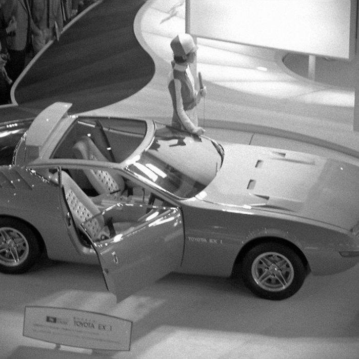 Toyota EX-1 (1969) - Het studiemodel dat de Toyota Celica werd