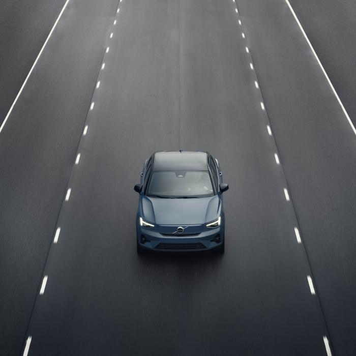 Elektrische Volvo C40 is een Polestar 2 in vermomming