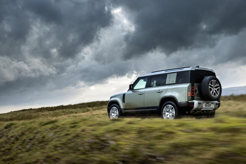 De minst dure Land Rover Defender is ook gelijk de krachtigste