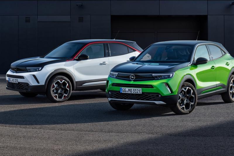 Ja, de nieuwe Opel Mokka lust ook benzine en diesel