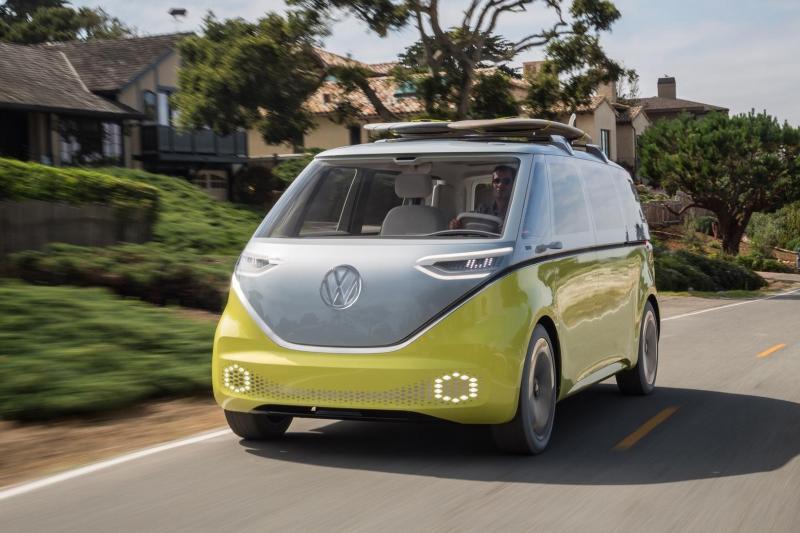 Helaas! Zo gaaf als de concept car wordt het productiemodel Volkswagen ID. Buzz niet