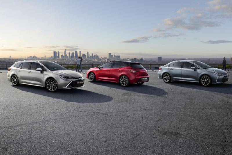 Toyota Corolla test