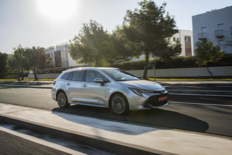 Wat is er opvallend aan de Toyota Corolla?