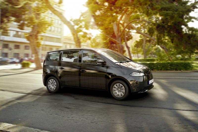 Sono Motors Sion: Zonnecelauto in zijn definitieve gedaante