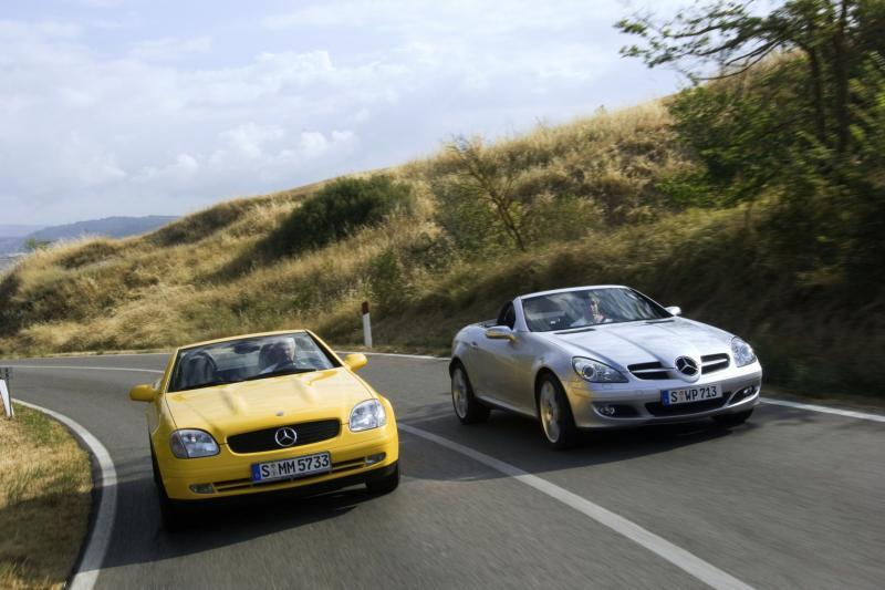 Mercedes SLC: einde van de kappersauto