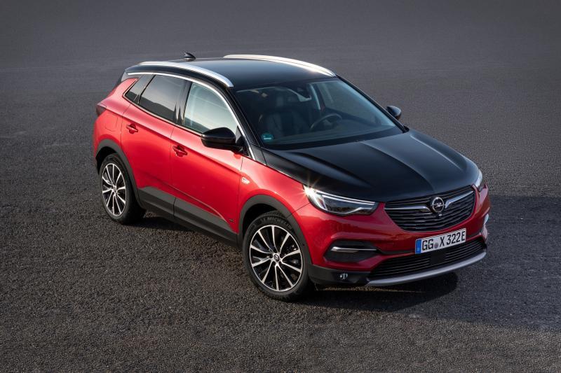 Opel Grandland-X krijgt Manta-neus