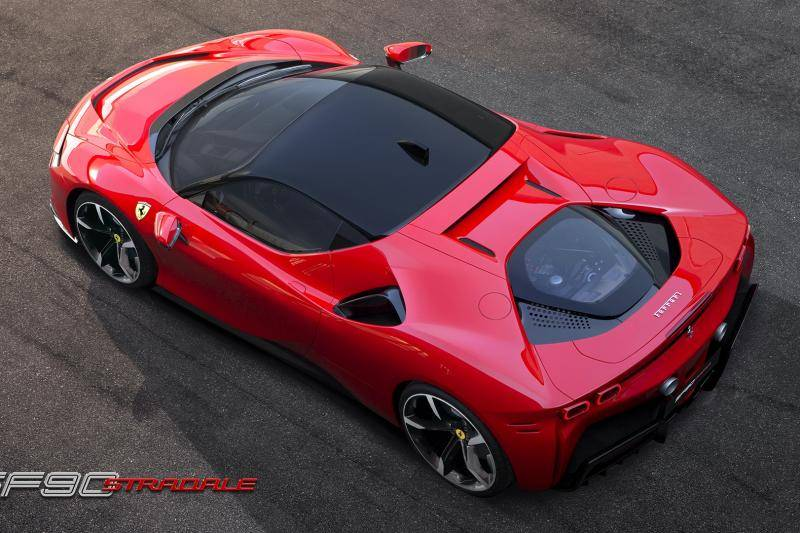 Ferrari SF90 Stradale - snelste Ferrari ooit is stekkerhybride!