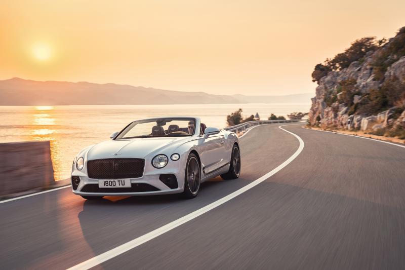 Bentley Continental GT Convertible: niets moet, alles kan