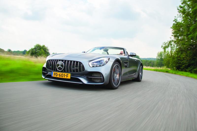 Mercedes- AMG GT C Roadster: verlangen naar de Bulderbaan