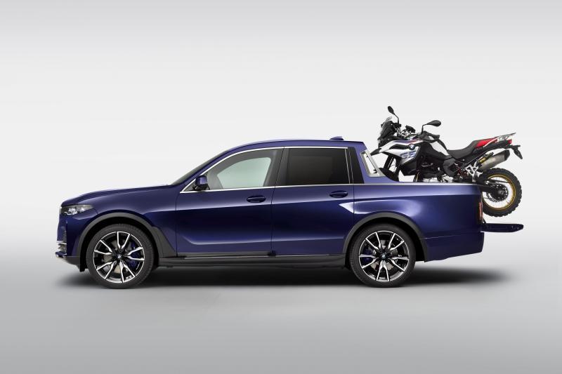 Deze BMW X7 Pick-up is gebouwd door stagiaires