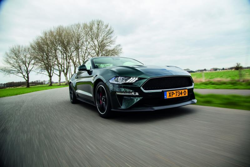 Ford Mustang Bullit: sloopkogel
