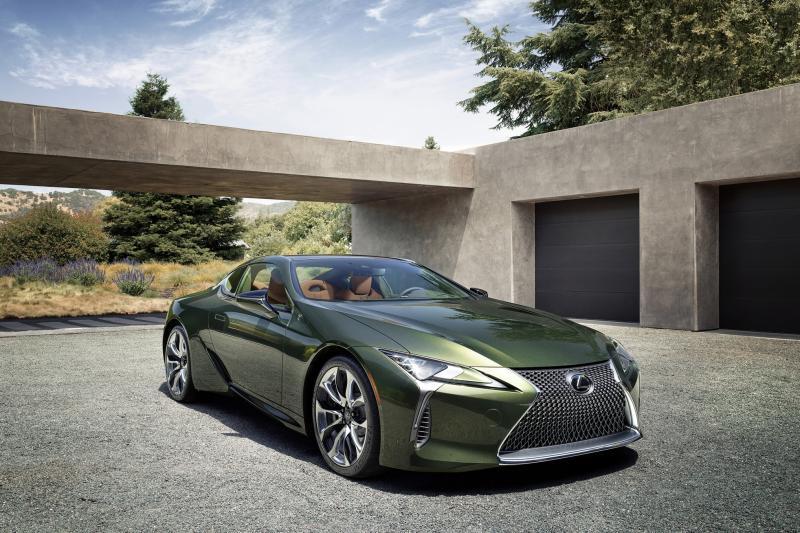 Lexus LC Classic Limited Edition laat ons groen zien van jaloezie